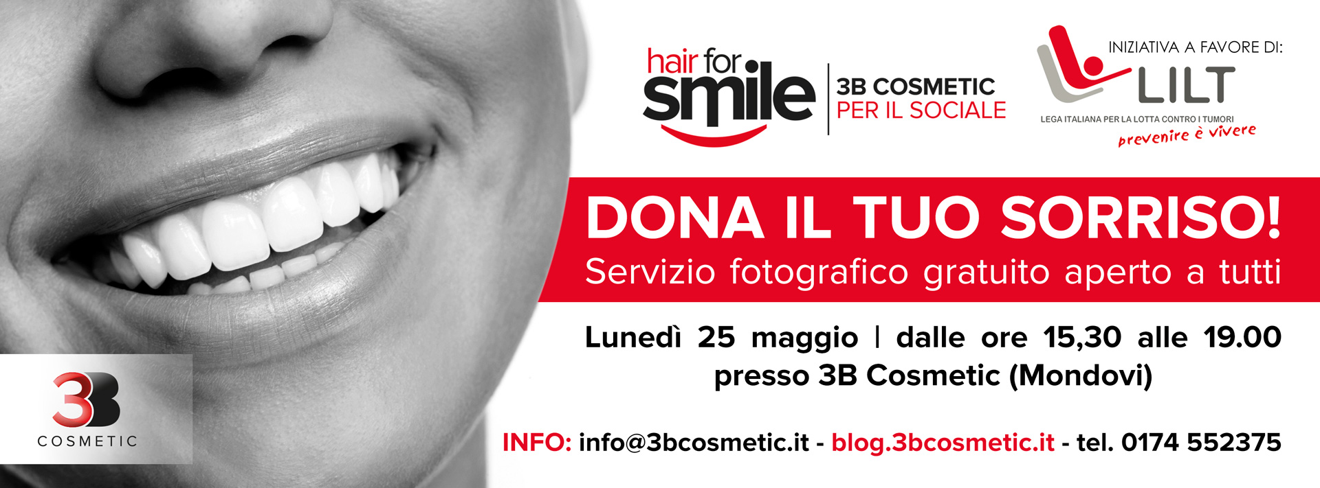 Hair For Smile - Dona il tuo Sorriso